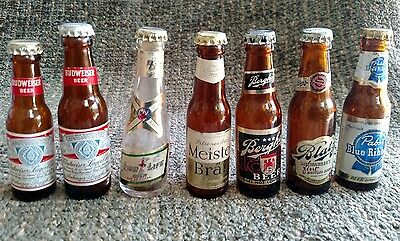 vintage mini beer bottles collection on ebay