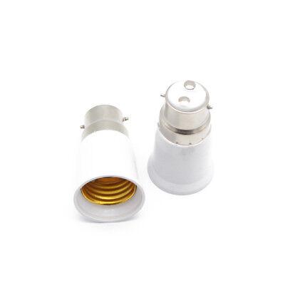 Adaptateur Douille B22 E27 Ampoule Culot Lampe Baionnette Vers Gros Culot Vis