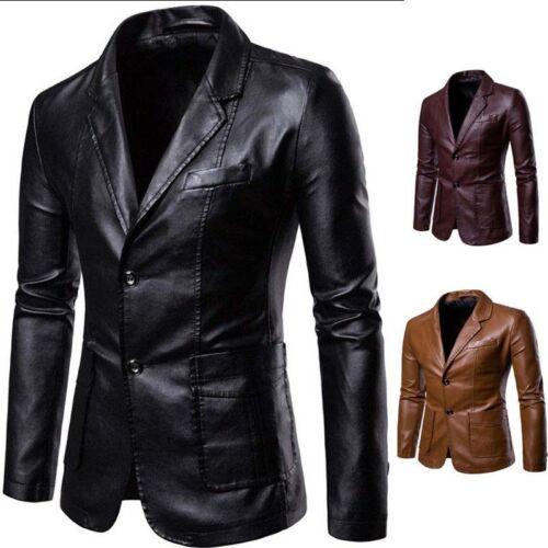 cappotto uomini convenzionali del del del del del blazer casuali Vestiti casuali rivestimento nuovi rivestimento degli cuoio OZqEEA
