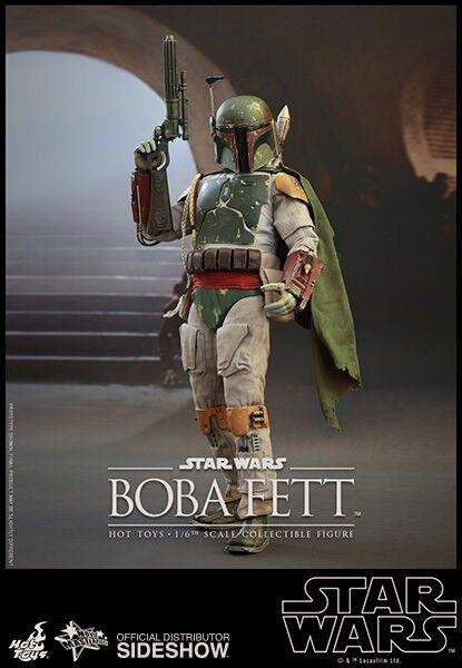 heta leksaker 1  6 stjärnornas krig Episod VI Returnering av Jedi Boba Fett MMS312