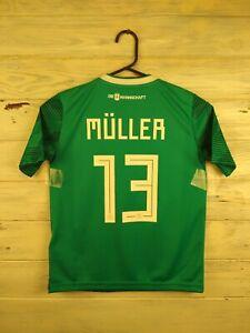 Muller Germany soccer jersey kids 9-10 years 2019 shirt BR3146 football Adidas