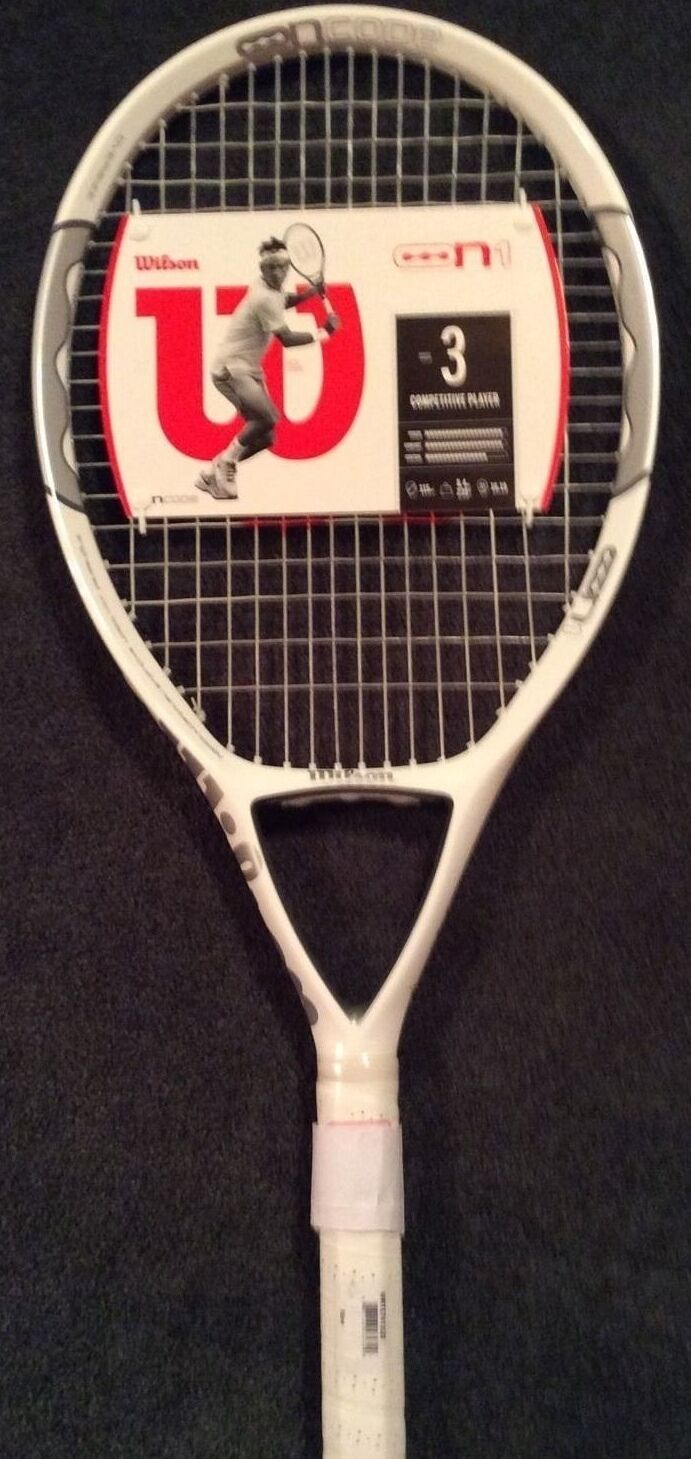 Wilson NCode N1 115 OverGröße Cordée Raquette de tennis 4-1 2  NEUF RARE achat immédiat