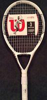 Wilson Ncode N1 115 Oversize Strung Tennis Racquet Racket 4-1/2 Free Ship