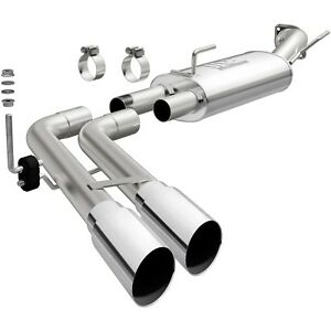 Performance Exhaust Systems >> Details About Magnaflow 15250 Cat Back 3 Performance Exhaust System Dual Outlet Stainless