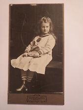 Wesel - Mädchen in Matrosen-Anzug - SMS Meteor - Portrait / CDV