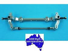 Alloy Front Beam Axle & Steering for Tamiya 1:14 RC Tractor Truck Semi SILVER