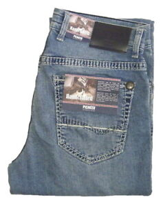 PIONEER-RANDO-STRETCH-Jeans-Gr-W31-bis-W42-HANDCRAFTED-BLAU-9892-183-2-Wahl