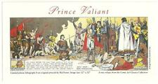 Print of a Ltd. Edition Litho of Prince Valiant From Original Artwork by Foster