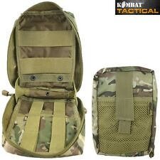 MEDIC MOLLE WEBBING POUCH ZIPPED FIRST AID KIT HOLDER BTP MTP BRITISH ARMY