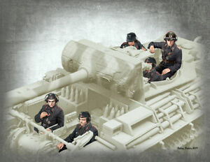 Master-Box-35201-1-35-German-Tank-Crew-1944-1945-WWII-5-figures-NEW-SEPT-2019
