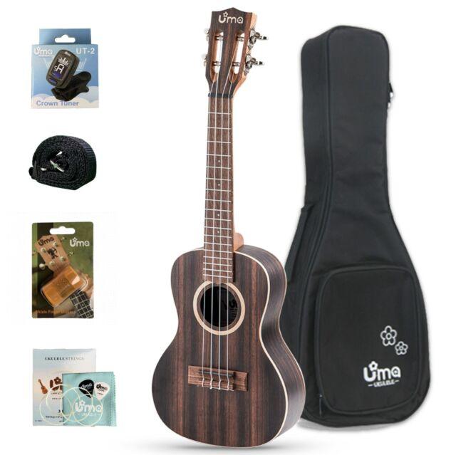 Ohana Ukulele Concert Gig Bag Case Ucs24 Super Deluxe 24mm Padding For Sale Online Ebay