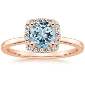 2Ct-Round-Cut-Topaz-Simulant-Diamond-Halo-Solitaire-Ring-Rose-Gold-Finish-Silver