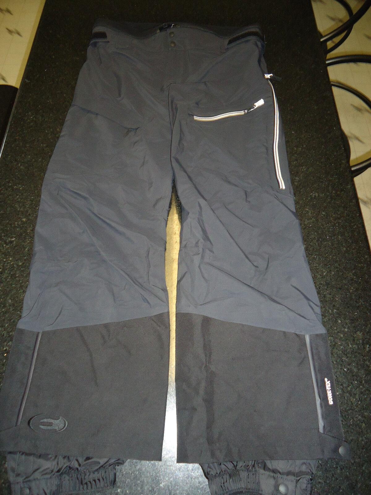 EIDER SPENCER GTX GORE-TEX C-KNIT BIB PANTS MEN'S X-LARGE (XL) SRP -