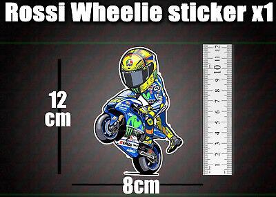 10 cm Stickers autocollants 46 moto gP valentino rossi superbike bikers stickers