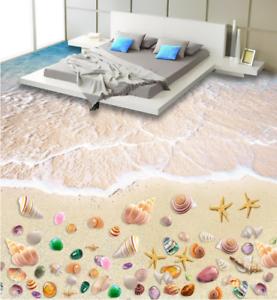 3D Pretty Beach Papel Pintado Mural Parojo Impresión de suelo 542 5D AJ Wallpaper Reino Unido Limón