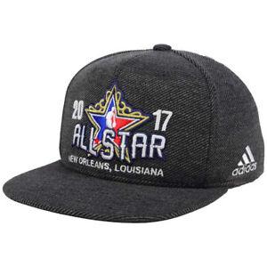 f57de865f3b NBA All Star Game Adidas On-Court Flat Bill Brim Snapback Hat Cap ...