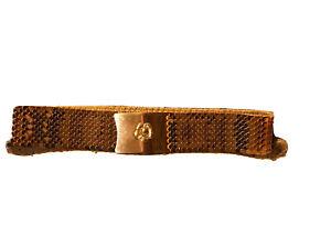 Stretch Belt Adjustable Belt Fish Scale Belt Vtg Stretch Belt Gold Stretch Belt