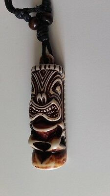 PENDENTIF TRIBAL-GRIFFE OURS CLAIRE-TENDANCE VINTAGE-ARTISANAL