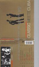 CD--KLAZZ BROTHERS & CUBA PERCUSSION--CLASSIC MEETS CUBA