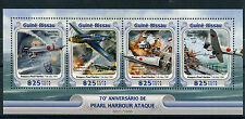 Guinea-Bissau 2016 MNH Pearl Harbour Attack 75th Anniv 4v M/S Airplanes Stamps