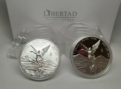 Silver Libertad 1982-1995 ~5 Direct Fit 36mm Coin Capsule For Mexican 1 oz