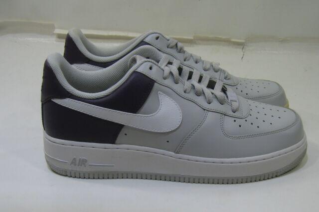 Nike Men Air Force 1 Grey-white-purple 315122-050 MEN Size 10