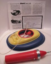 Old Plastic Battery Operated Scoot Air Car Hydroplane Space UFO shape Saucer Toy