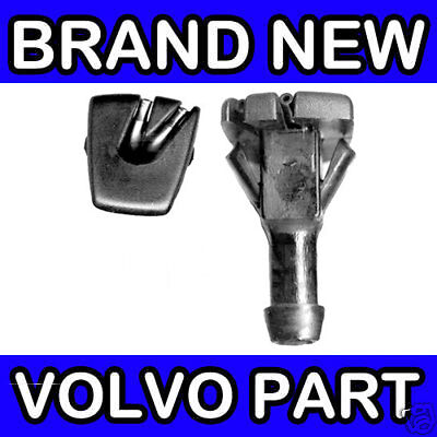VOLVO 740 940 WINDSCREEN WASHER JETS PAIR NOZZLES