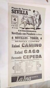 1986-Cartel-Plaza-de-Toros-Sevilla-Fernando-Cepeda-Rafael-Camino-Rafael-Gago
