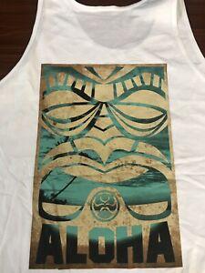 Hawaiian-Island-Creations-HIC-Classic-Aloha-Herren-Tank-Top-2xl-weiss