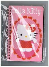 Sanrio HELLO KITTY Small SPIRAL Notebook! NEW PACK Flower Window Mirror