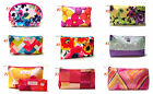 Clinique 2015 Multi-color Floral Flower Print Cosmetic Makeup Bag