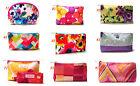Clinique 2015 Multi-color Floral Flower Print Cosmetic Makeup Bag