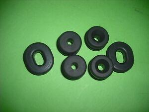 YAMAHA-XS400-XS-400-XS500-500-CAPOT-Couvercle-lateral-caoutchouc-Set