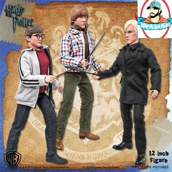 Harry Potter 12 Inch Action Figures Series 1 Set of all 3