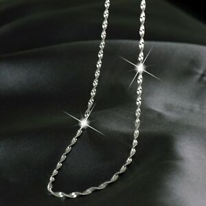 18K-WHITE-GOLD-PLATED-SINGAPORE-TWIST-CHAIN-NECKLACE-60CM-1-8mm