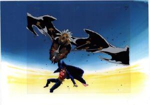 Jojo-039-s-Bizarre-Adventure-Anime-Cel-Douga-BG-Animation-Art-Jotaro-Iggy-Fool-1993