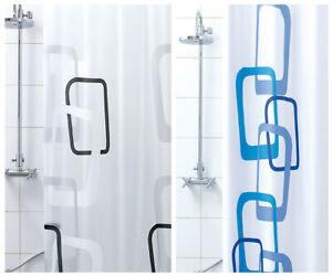 Duschvorhang -formenbau Moderner Vinyl Wasserdicht 3 Maße Ringe Inkl PVC