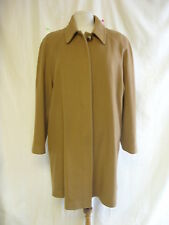 Ladies Coat - Austin Reed, size 12, brown colour, vintage look, wool blend 2072