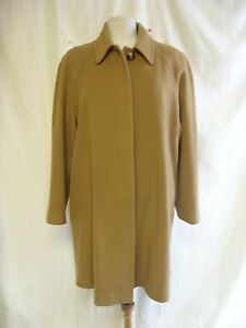 Ladies Coat Austin Reed Size 12 Brown Colour Vintage Look Wool Blend 2072 Ebay