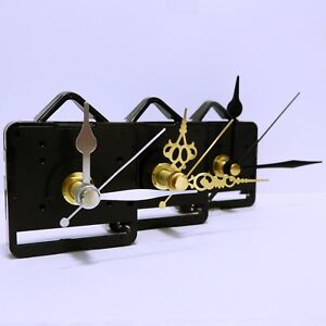 Quartz-clock-movement-sweep-mechanism-non-ticking-with-hands-and-battery