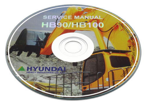 Hyundai Crawler Excavator R450LC-7 Workshop Service Shop Manual Repair