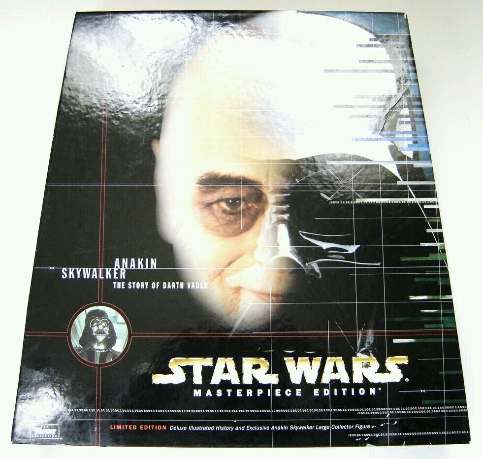 Kenner Star Wars Masterpiece Kollektion Limitierte Auflage Anakin Skywalker &