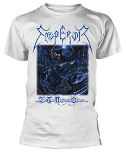 Emperor-039-In-The-Nightside-Eclipse-039-White-T-Shirt-NEW-amp-OFFICIAL