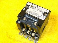 Square D 8536 Sbo2s Size 0 Motor Starter 600 Volt 3 Pole 24 V Coil New