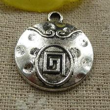 Free Ship 60 Pcs Tibetan Silver Party Charms 22x18mm #2391