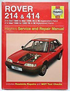 1689 rover 214 414 1989 1996 petrol haynes service and repair rh ebay co uk Rover 214 1991 Loughton Rover 400 1999