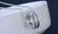 925 Sterling Silver 2.5 Cts Cubic Zirconia Constellation Ring Pendant Necklace