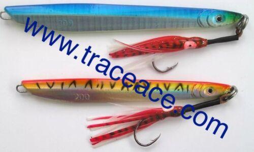 SPEED JIG BUTTERFLY JIG SMART JIG in sizes 200g 250g 300g in Blue or Orange