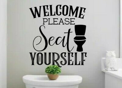 Welcome #20 ~ Wall or Window Decal